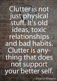 Is there a link between physical and emotional clutter?